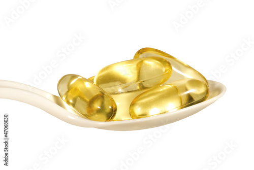 Gel Vitamin Supplement Capsule
