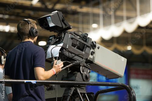 Videokamera - TV - Fernsehen