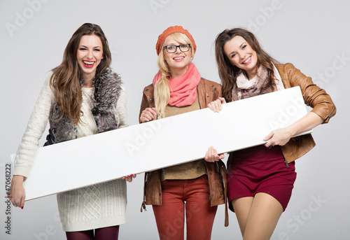 Marvelous three female friends