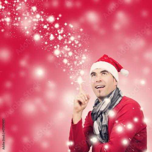 Weihnachtsmann hat eine Idee, Flying Stars