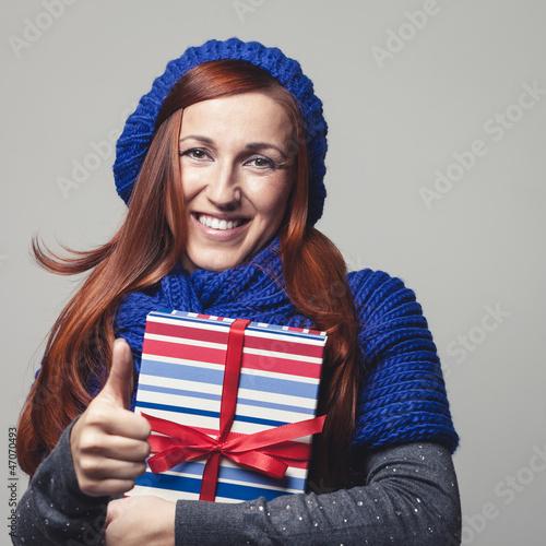 Daumen hoch zu Weihnachtsgeschenken