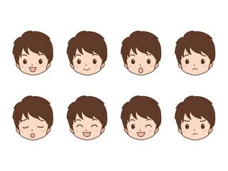 男性/表情