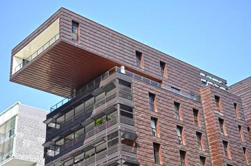 Lyon Confluence, ático, arquitectura contemporánea