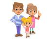 Three families02