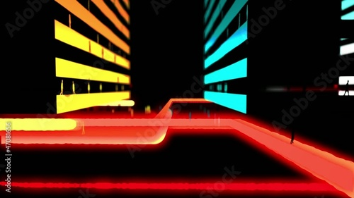 Abstract City Lights 3