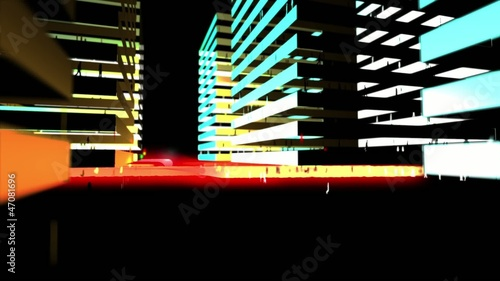 Abstract City Lights 4