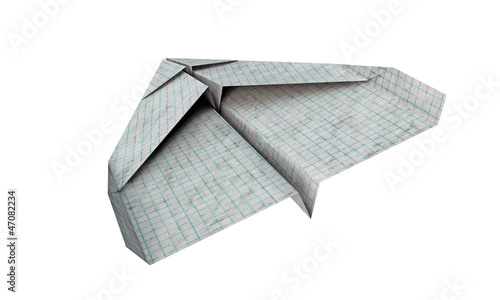 airplane paper - 47082234