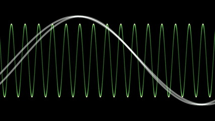 Electronic Wave form (loop)