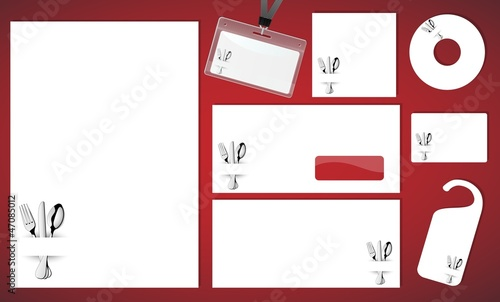 Design of corporate identity kit_Restaurant