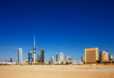 Fototapety Kuwait City has embraced contemporary architecture