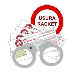 Usura - racket
