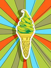 pop art ice cream