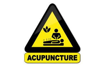 Panneau acupuncture