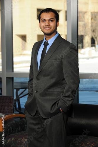 Young Eastern Businessman