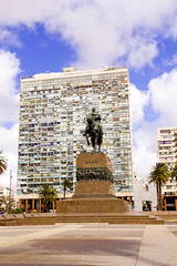Statue of General Artigas  Montevideo, Uruguay