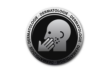 Bouton dermatologie