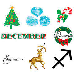December Icons