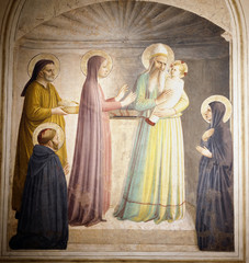 Presentacion de Jesús en el Templo.