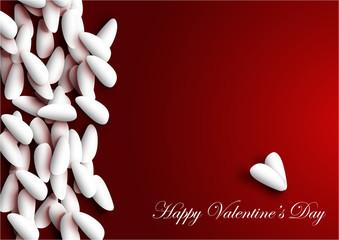 Confetti per San Valentino vector
