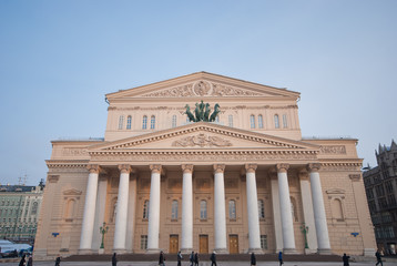 Main building of Bolshoi Theater ,Moscow.