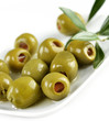 Green Stuffed Olives