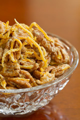 Candied orange nuts - profile
