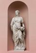 Neoclassic Marble Statue in its Niche