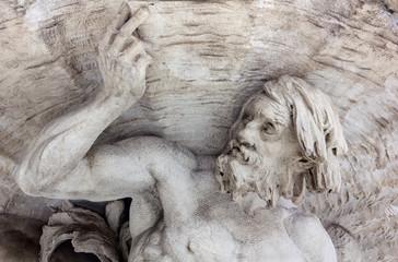 Marble Statue of a Triton