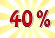 40 Prozent
