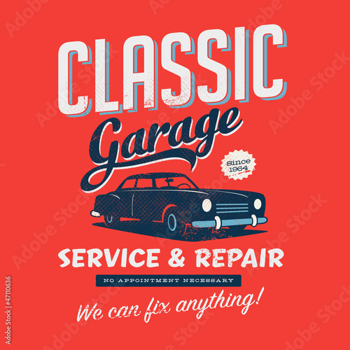 Vintage design for Graphic T-Shirts. Vector.