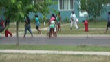 Kids Fighting in Street
