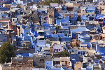 "Jodhpur the ""Blue City"" in Rajasthan, India."