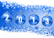 2013 new year vector card