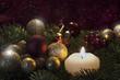 Kerzenschein und Sternchen