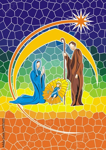 nativity color