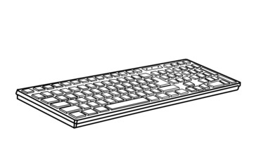 drawing keyboard