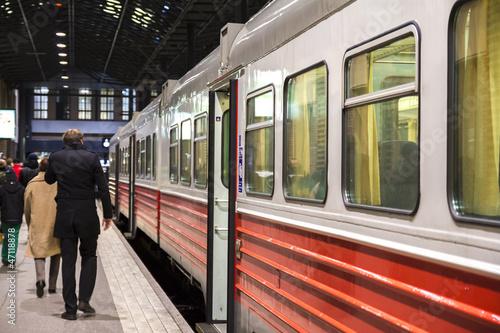 People trainstation