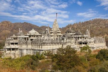 Chaumukha Mandir - Jain Temple, Ranakpur.