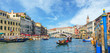 Venice, View from Rialto Bridge. Italy.