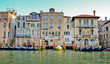 Venice town beside grand canal, Venezia, Italy