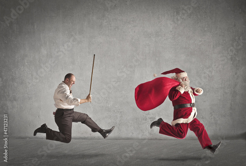 Escaping Santa Claus