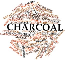Word cloud for Charcoal