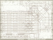 Grunge horizontal architectural background. Eps10