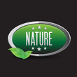 Nature green button green