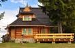 Drewniany domek - 47128431