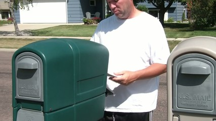 Man Celebrates Finding Money in Mail