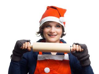 Weihnachtsbäckerin