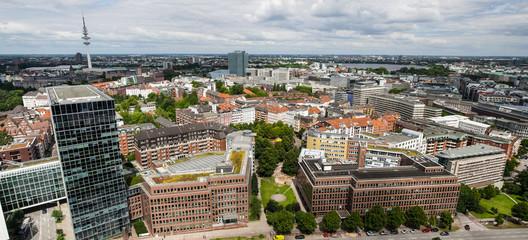 Modern european city