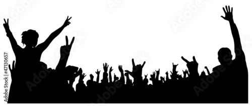 Concert Crowd - 47130657