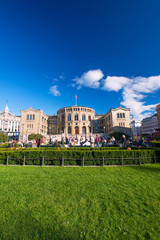 Storting or Parlament in Oslo Norway